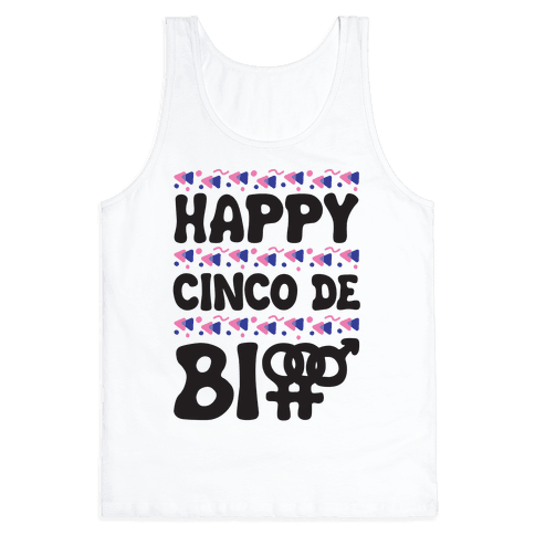 Happy Cinco De Bio Tank Top