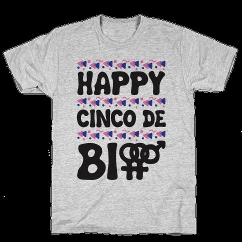 Happy Cinco De Bio Mens T-Shirt