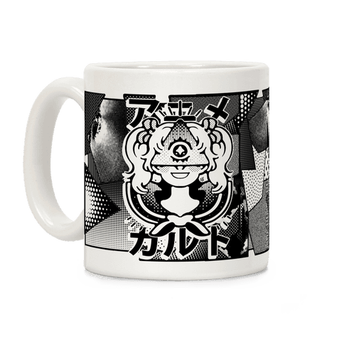 Anime Illuminati Cult Coffee Mug