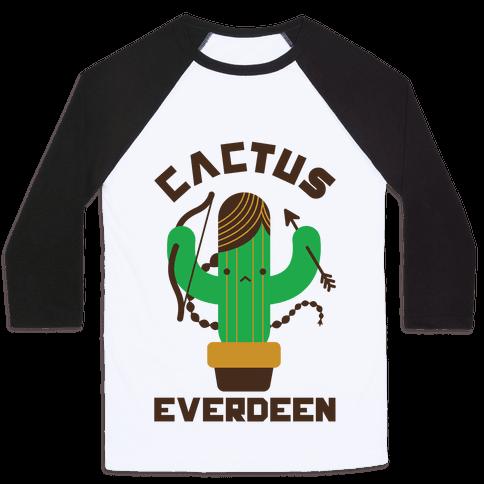 Cactus Everdeen Baseball Tee