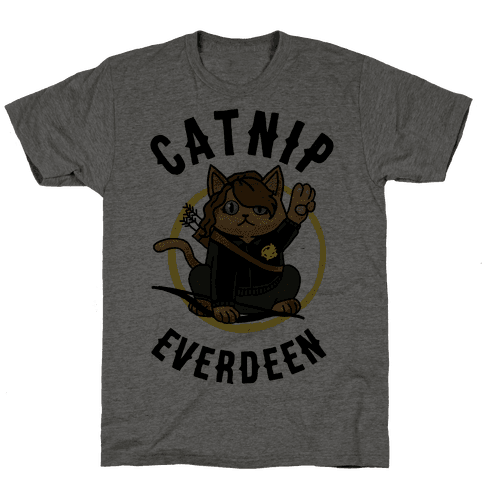 Catnip Everdeen Mens T-Shirt