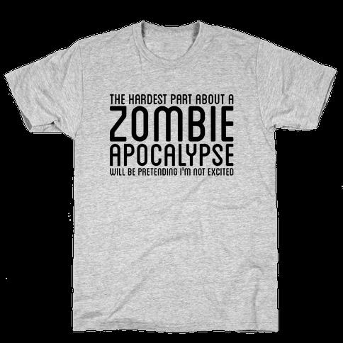 Zombie Mens T-Shirt