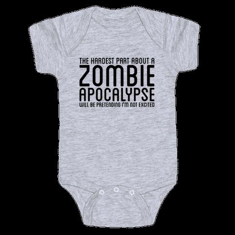 Zombie Baby Onesy