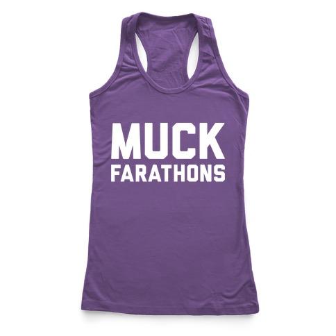 Muck Farathons Racerback Tank Top
