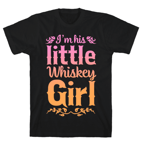 Little Whiskey Girl Mens T-Shirt