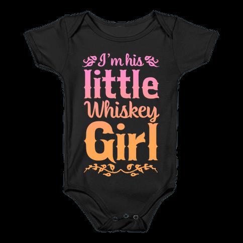 Little Whiskey Girl Baby Onesy