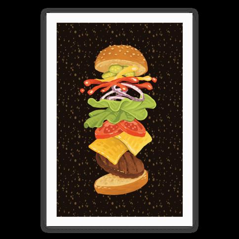 Anatomy Of A Burger