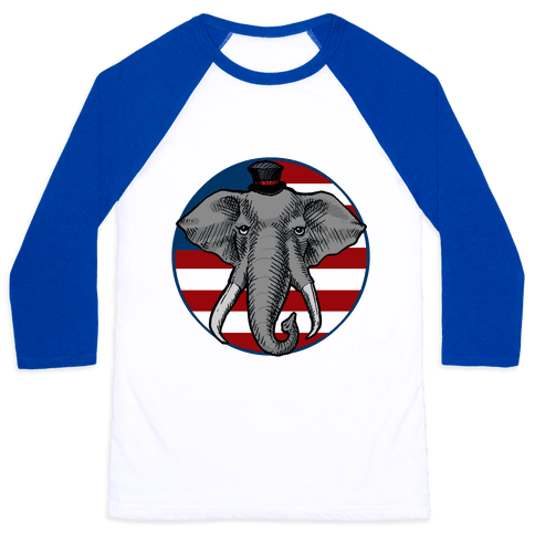 GOP Flag Baseball Tee