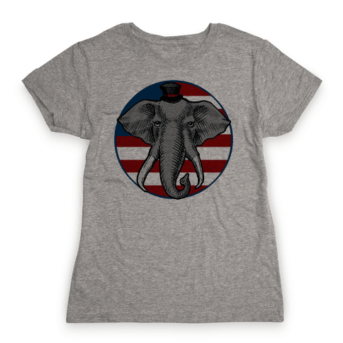 GOP Flag Womens T-Shirt