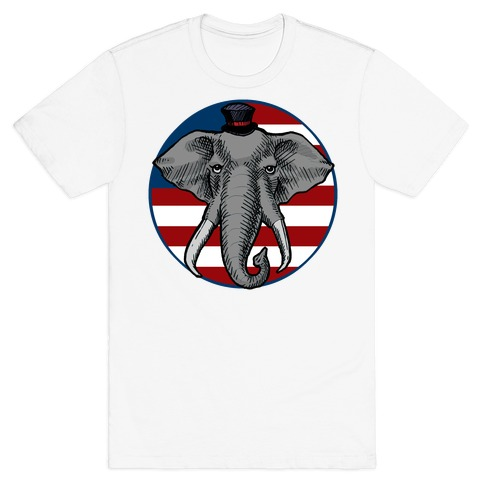 GOP Flag Mens T-Shirt