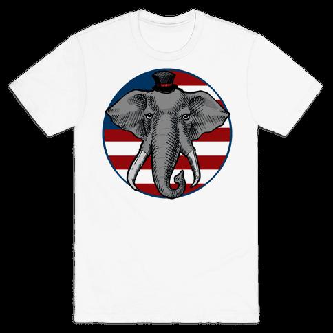 GOP Flag Mens T-Shirt