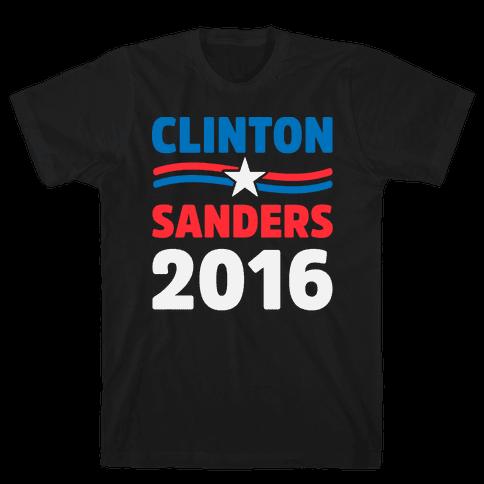 Clinton Sanders 2016 Mens T-Shirt