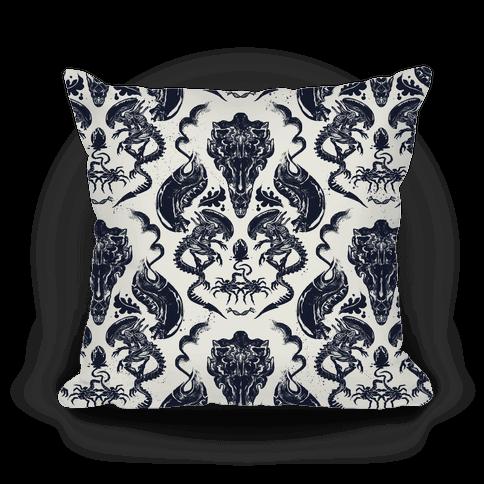 Xenomorph Pillow