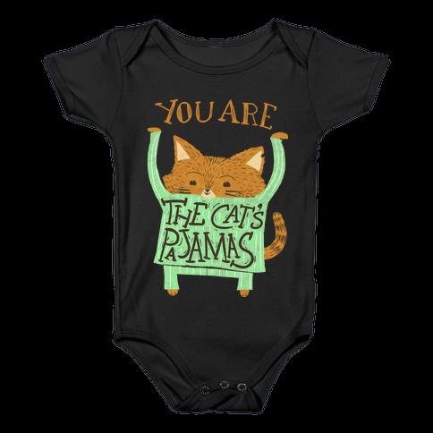 Cat's Pajamas Baby Onesy