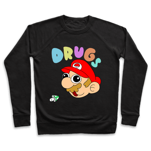 Mario On Drugs Pullover