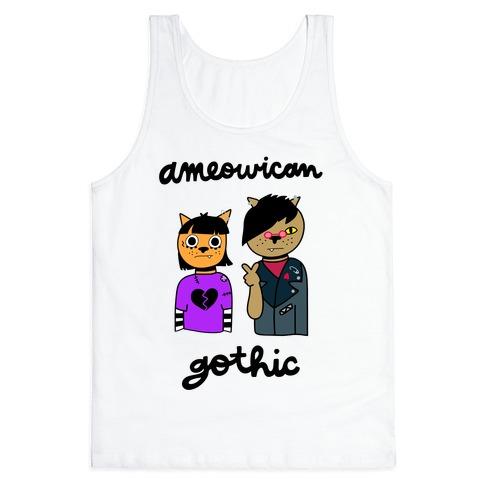 Ameowican Gothic Tank Top