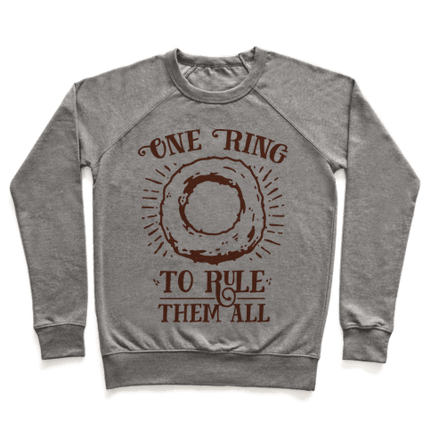 One Onion Ring to Rule Them All Pullover