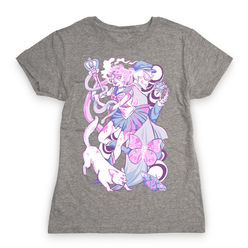 Pastel Horror Senshi Womens T-Shirt