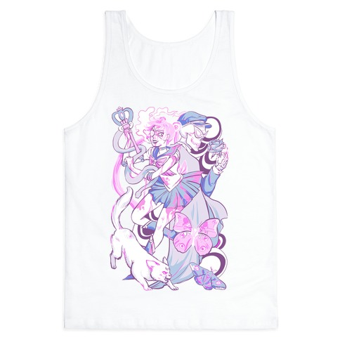 Pastel Horror Senshi Tank Top