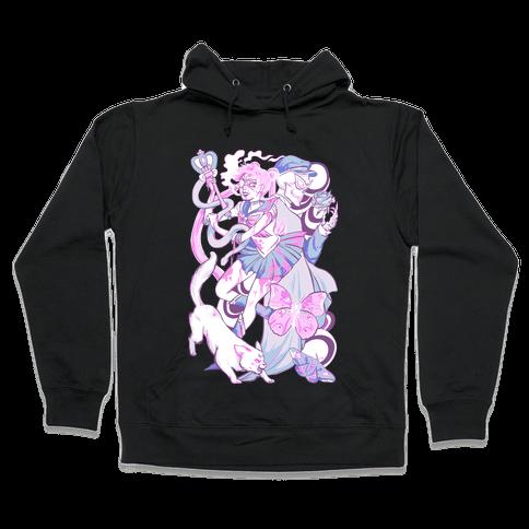 Pastel Horror Senshi Hooded Sweatshirt