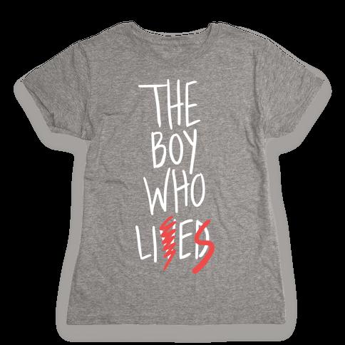 The Boy Who Lies Womens T-Shirt