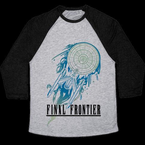 Final Frontier Baseball Tee