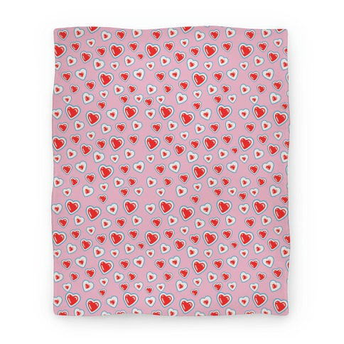 Zelda Heart Container Blanket Blanket