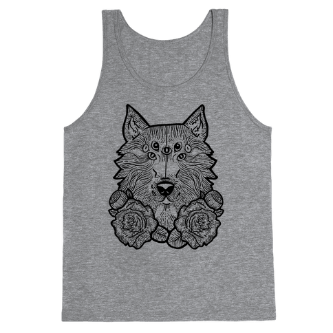 Seven Eyed Wolf Tank Top