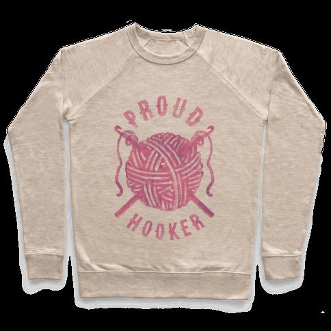 Proud (Crochet) Hooker Pullover