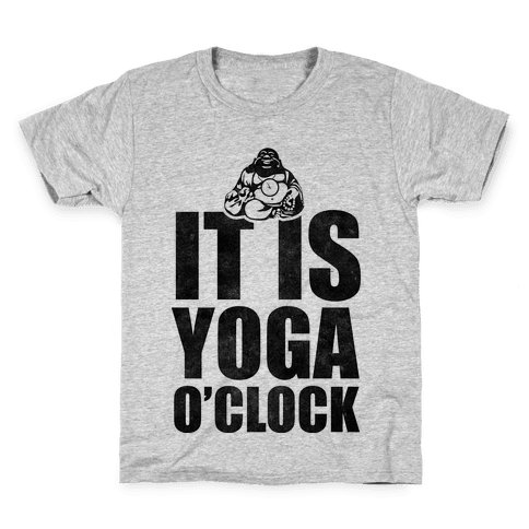 Yoga O'Clock Kids T-Shirt