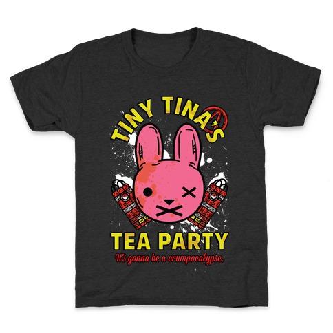 Tiny Tina's Tea Party Kids T-Shirt