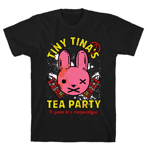 Tiny Tina's Tea Party Mens T-Shirt