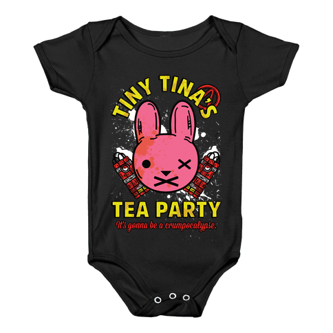 Tiny Tina's Tea Party Baby Onesy
