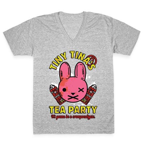 Tiny Tina's Tea Party V-Neck Tee Shirt