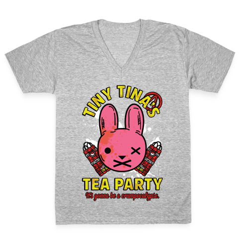 Tiny Tina's Tea Party V-Neck Tee Shirt