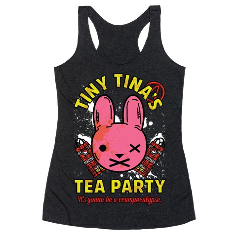 Tiny Tina's Tea Party Racerback Tank Top