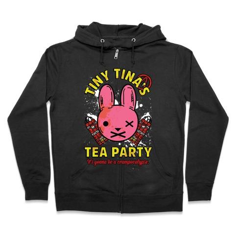 Tiny Tina's Tea Party Zip Hoodie