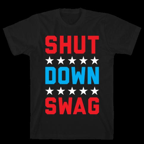 Shutdown Swag Mens T-Shirt