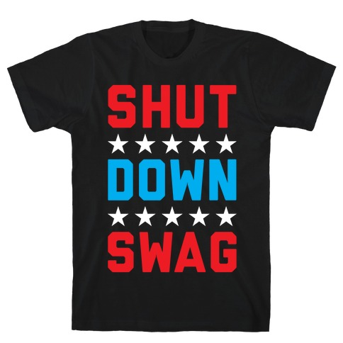 Shutdown Swag Mens T-Shirt