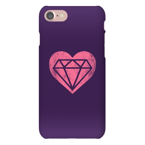 Diamond Heart Phone Case