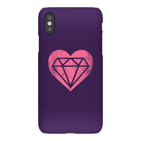 Diamond Heart Phone Case