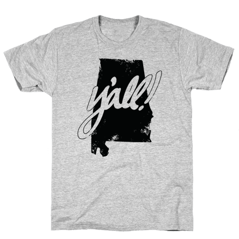 Y'all! (Alabama) Mens T-Shirt