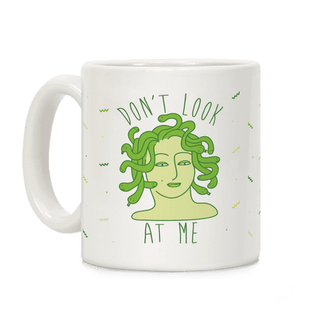 Don't Look At Me Coffee Mug