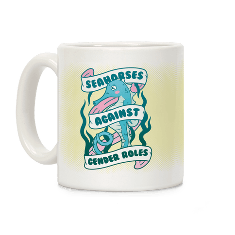 Seahorses Against Gender Roles Coffee Mug