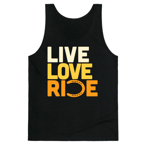 Live Love Ride (Horseshoe) Tank Top