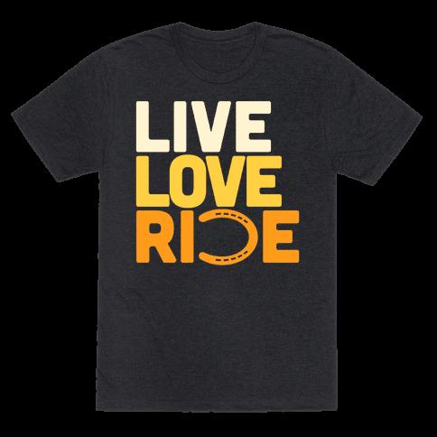 Live Love Ride (Horseshoe)