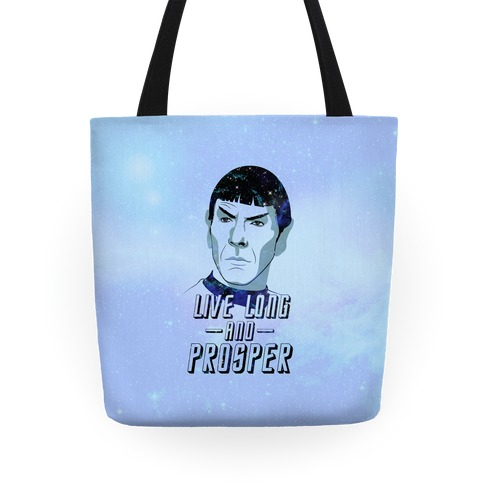Live Long and Prosper Tote