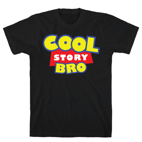 Cool story, bro (Toy Story Parody) Mens T-Shirt