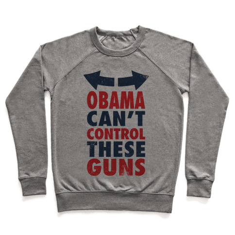 Obama Can't Control These Guns (Tank) Pullover
