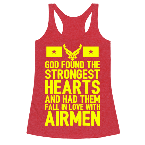 God Found The Strongest Hearts (Air Force)